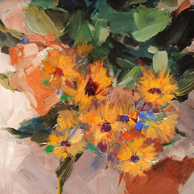 Floral 15b Poster by Mahnoor Shah
