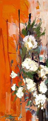 Floral 17b Poster by Mahnoor Shah