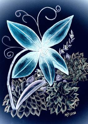 Floral Art 14-3 Poster by Maria Urso