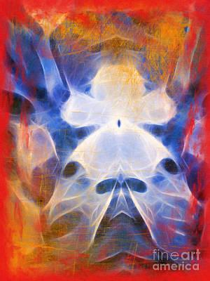 Flow Grunge Poster by Lutz Baar