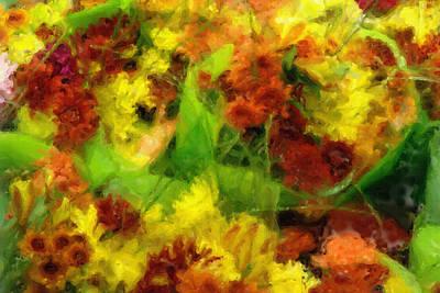 Flower Carnival Poster by Ayse Deniz