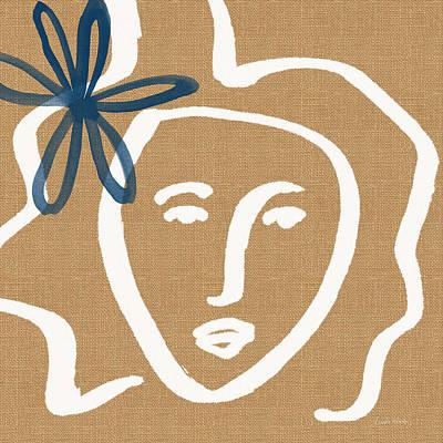 Flower Girl Poster by Linda Woods