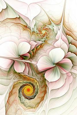 Flower Motion Poster by Anastasiya Malakhova