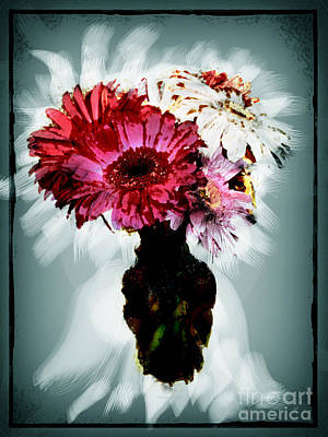 Flowers For You Poster by Gerlinde Keating - Galleria GK Keating Associates Inc