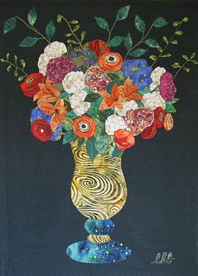 Flowers Gone Wild Poster by Lynda K Boardman