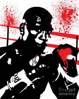 Floyd Mayweather Jr. Poster by Israel Torres