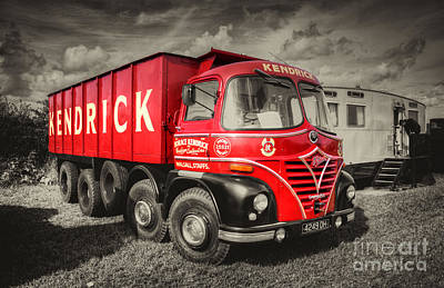 Foden S21a    Poster by Rob Hawkins