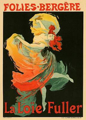 Follies Bergere Poster by Gianfranco Weiss