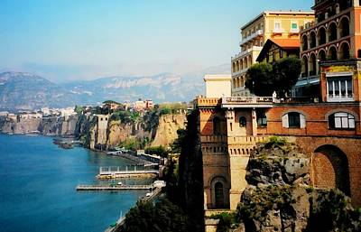 Follow My Heart To Sorrento Poster by Diana Angstadt