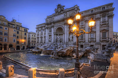 Fontana Di Trevi 3.0 Poster by Yhun Suarez