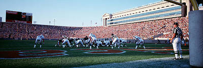 Football Game, Soldier Field, Chicago Poster by Panoramic Images