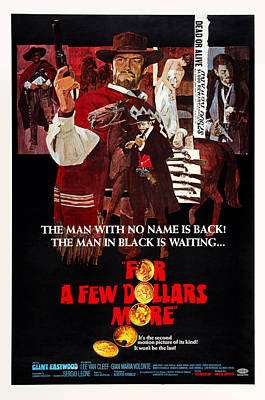 For A Few Dollars More, Aka Per Qualche Poster by Everett