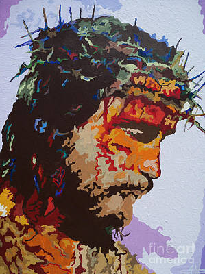 For He So Loved -jesus Poster by Kelly Hartman