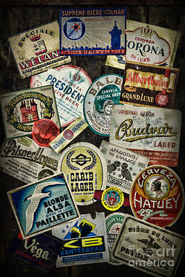 For The Beer Drinker Poster by Paul Ward