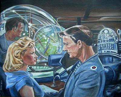 Forbidden Planet Poster by Bryan Bustard