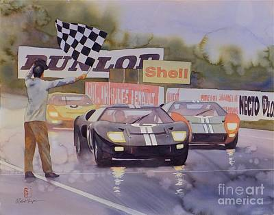 Ford Armada Poster by Robert Hooper