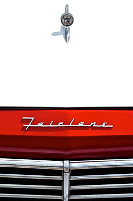 Ford Fairlane Poster by Frozen in Time Fine Art Photography
