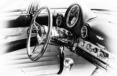 Ford Thunderbird Interior Poster by Tim Gainey