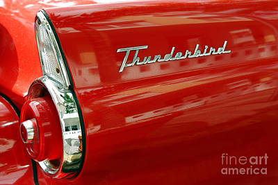 T-bird 1 Poster by Rod McLean