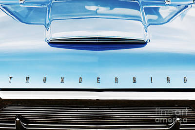 Ford Motor Company Poster featuring the photograph Ford Thunderbird by Tim Gainey