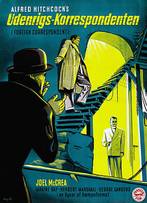 Foreign Correspondent, Aka Poster by Everett