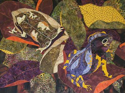 Forest Toads Poster by Lynda K Boardman