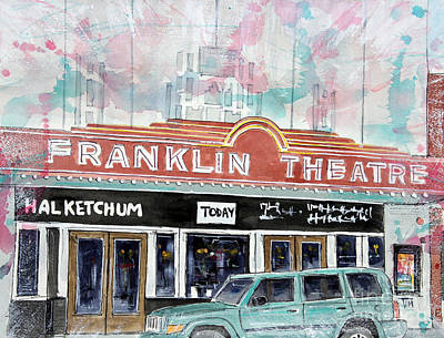 Forever Franklin Poster by Tim Ross