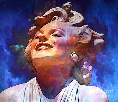 Forever Marilyn  Starstruck 2 Poster by Tammera Malicki-Wong
