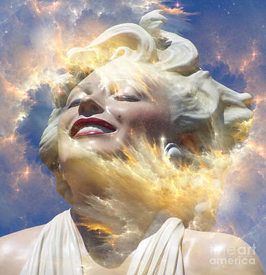 Forever Marilyn  Starstruck 4 Poster by Tammera Malicki-Wong