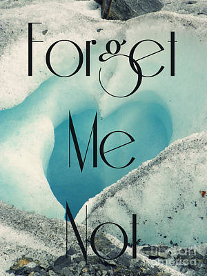 Forget Me Not Poster by Jennifer Kimberly