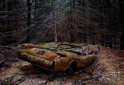 Forgotten 54 Poster by Tom Straub