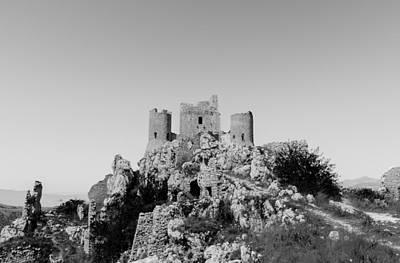Forgotten Ages - Rocca Calascio  Poster by Andrea Mazzocchetti