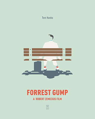 Forrest Gump Poster by Smile In The Mind