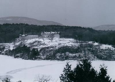 Fort Ticonderoga From Mount Independence Poster by David Fiske