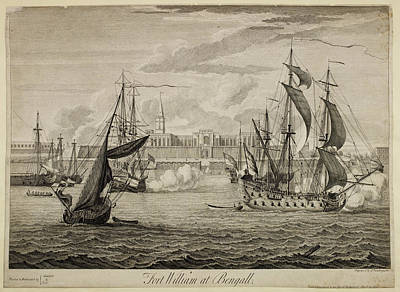 Fort William At Bengal Poster by British Library