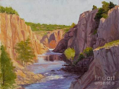 Forty Foot Hole Poster by Sue Messerly