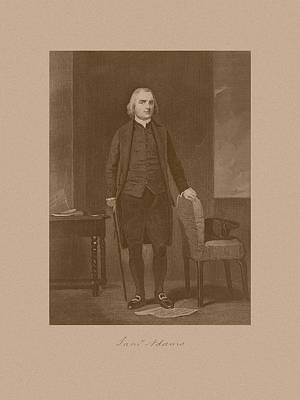 Founding Father Samuel Adams Poster by War Is Hell Store