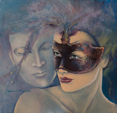 Fragrance Poster by Dorina  Costras