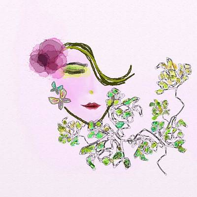 Fragrance Poster by Len YewHeng