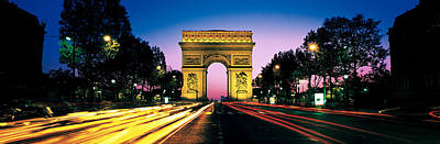 France, Paris, Arc De Triomphe Poster by Panoramic Images