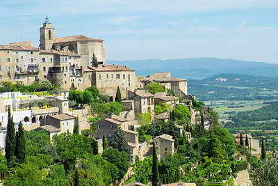 France, Provence, Luberon, Gordes Poster by Emily Wilson