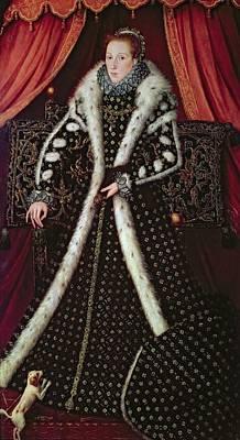 Frances Sidney, Countess Of Sussex, C.1565 Panel Poster by or Muelen, Steven van der Meulen