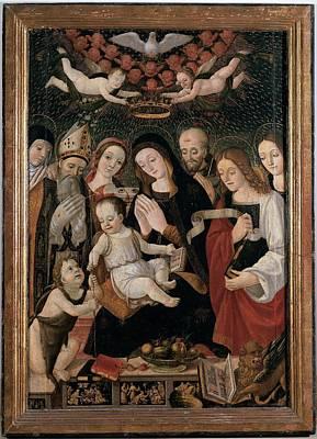 Francesco Da Montereale, Madonna Poster by Everett