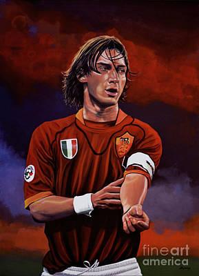 Francesco Totti Poster by Paul Meijering