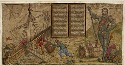 Francis Drake Poster by British Library