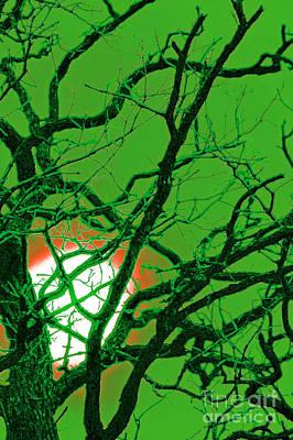 Frankenstein Moon Poster by First Star Art