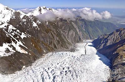 Franz Josef Glacier Poster by Delphimages Photo Creations