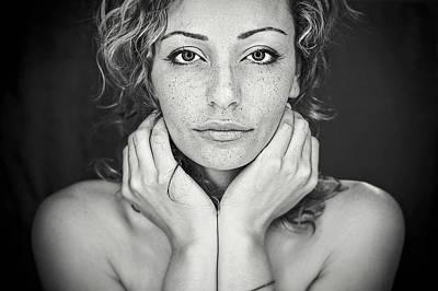 Freckles Poster by Oren Hayman