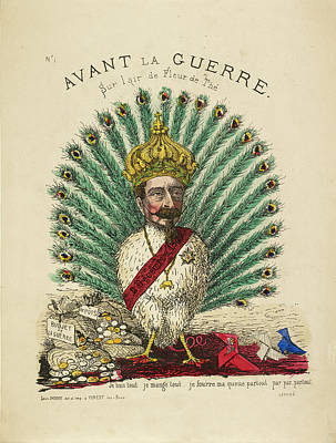 French Caricature - Avant La Guerre Poster by British Library