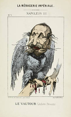 French Caricature - Le Vautour Poster by British Library